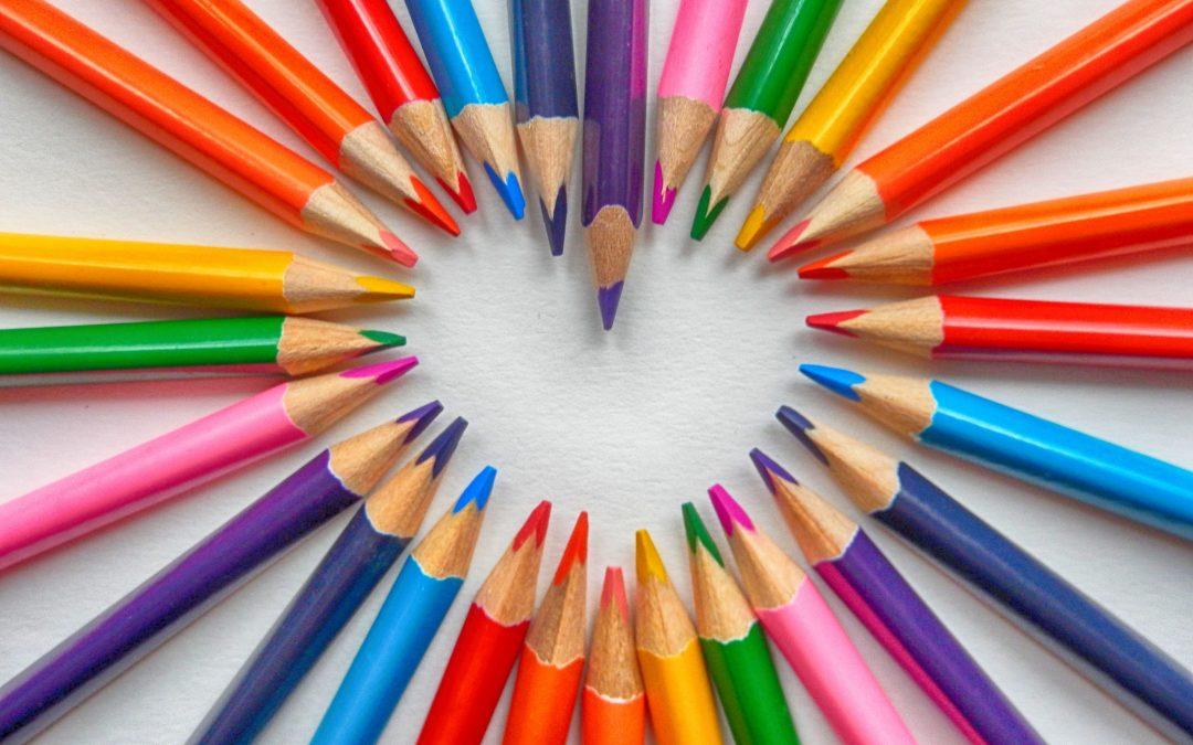 Buiten de lijntjes kleuren